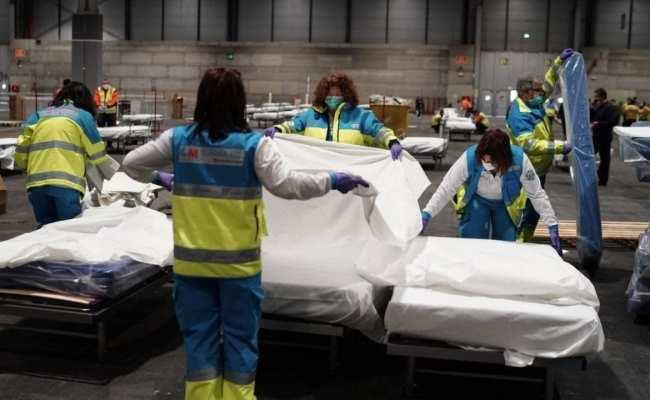 В Испании уже более 23,8 тыс умерших от коронавируса