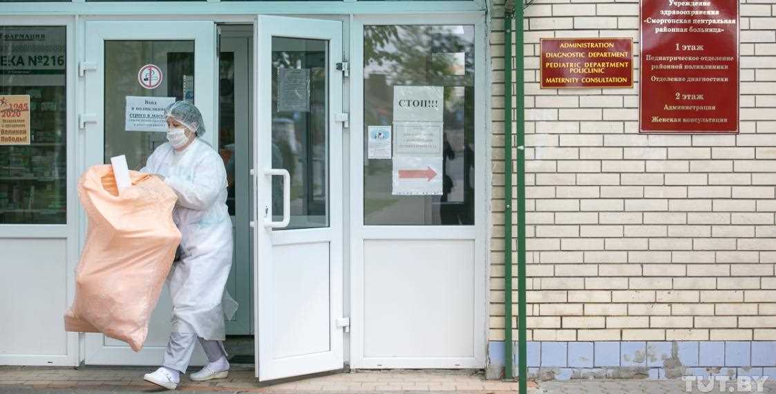 Главный врач Сморгонской ЦРБ подтвердил вспышку COVID-19 в своём регионе