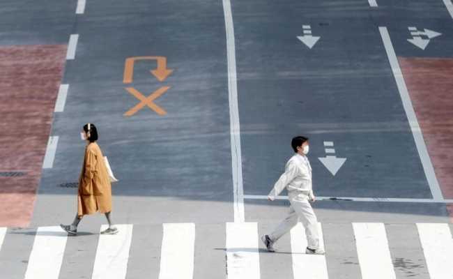 В японском городе Китакюсю вторая волна коронавируса