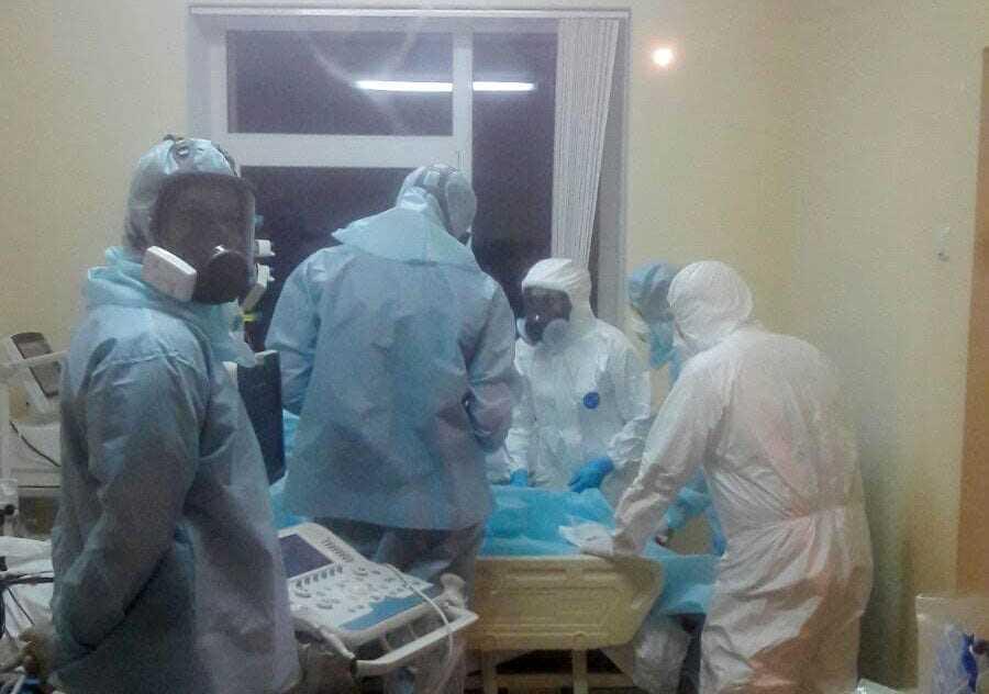 «У нас прямо в поселковой больнице умер 55-летний сотрудник»